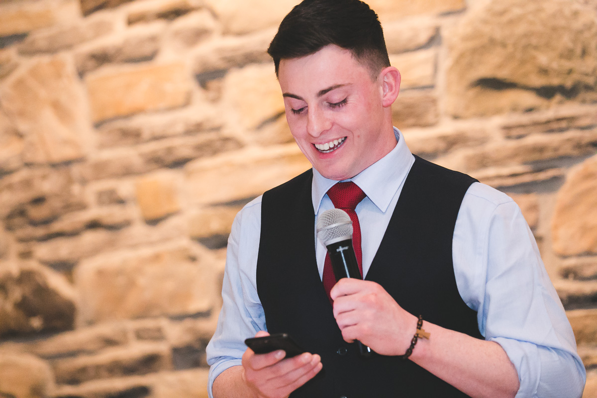 Clandeboye Lodge Wedding Reception Speeches