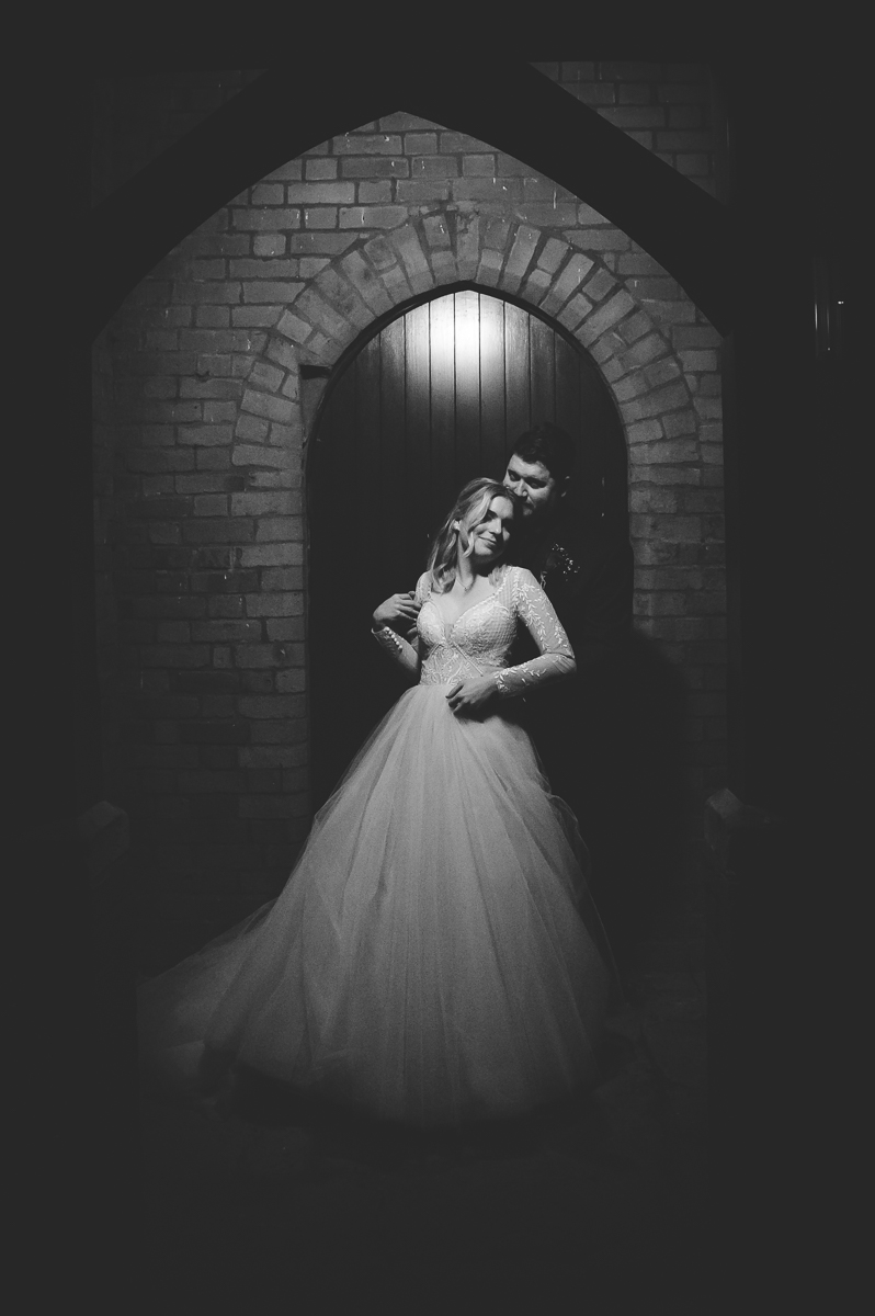 Clandeboye Lodge Wedding Low Key Bride and Groom