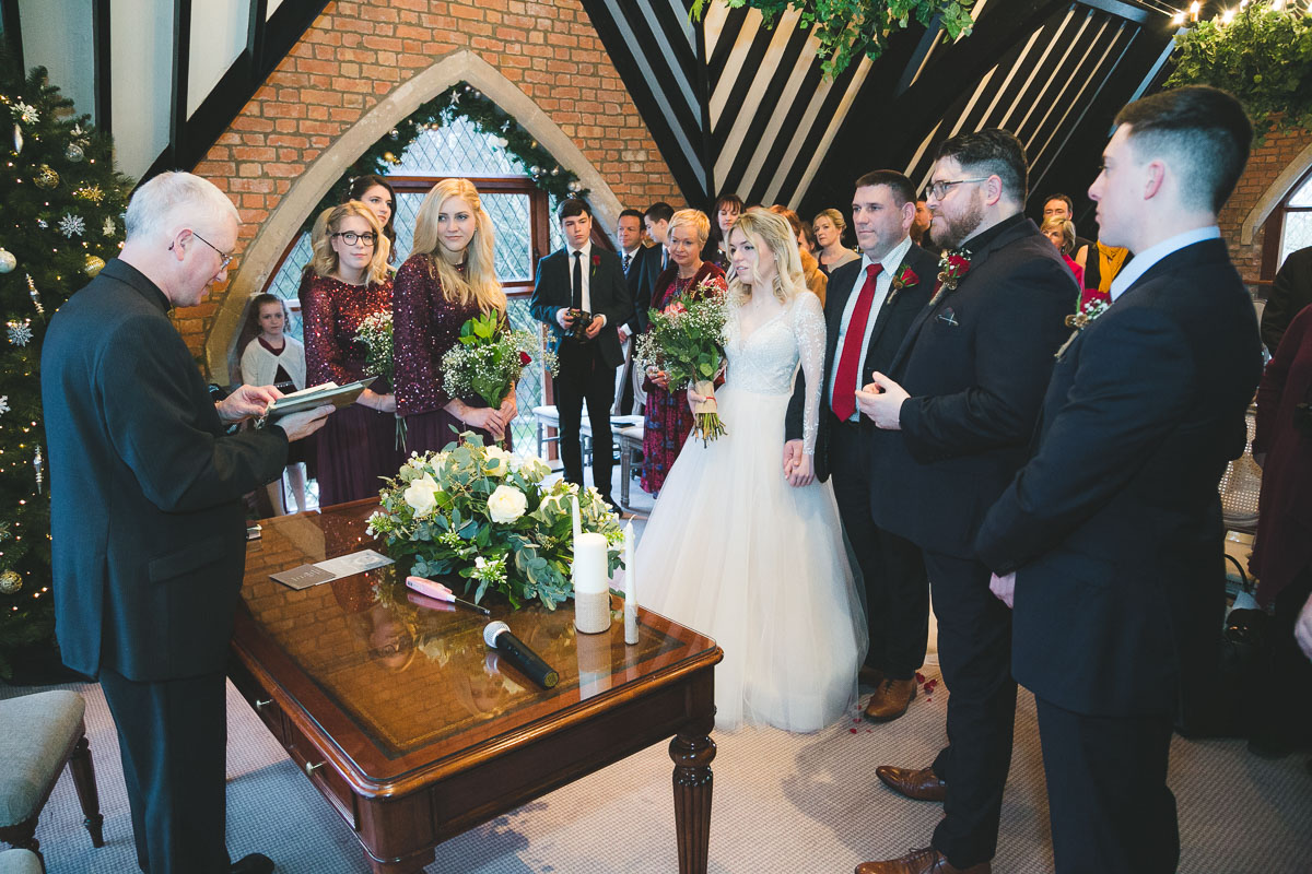 Clandeboye Lodge Wedding Ceremony Guests