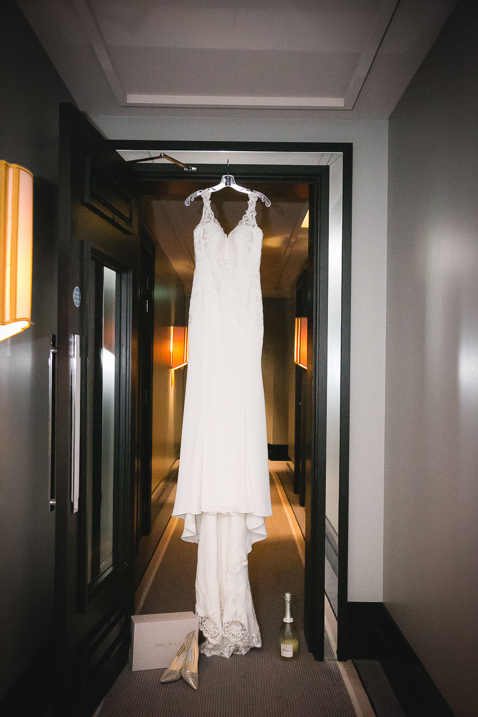 Merchant Hotel Wedding, Dress