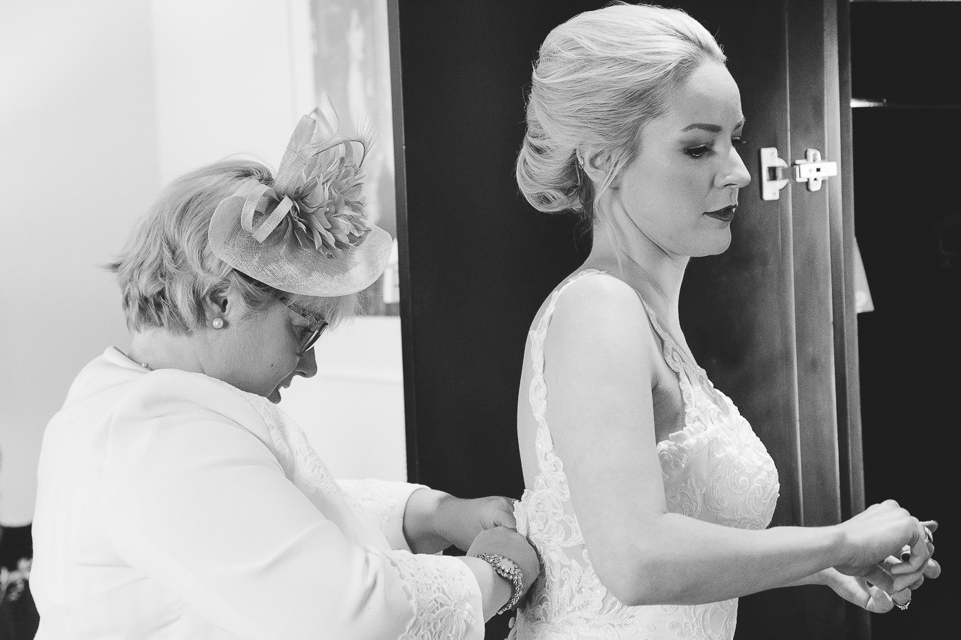 Merchant Hotel Wedding, Bridal Prep