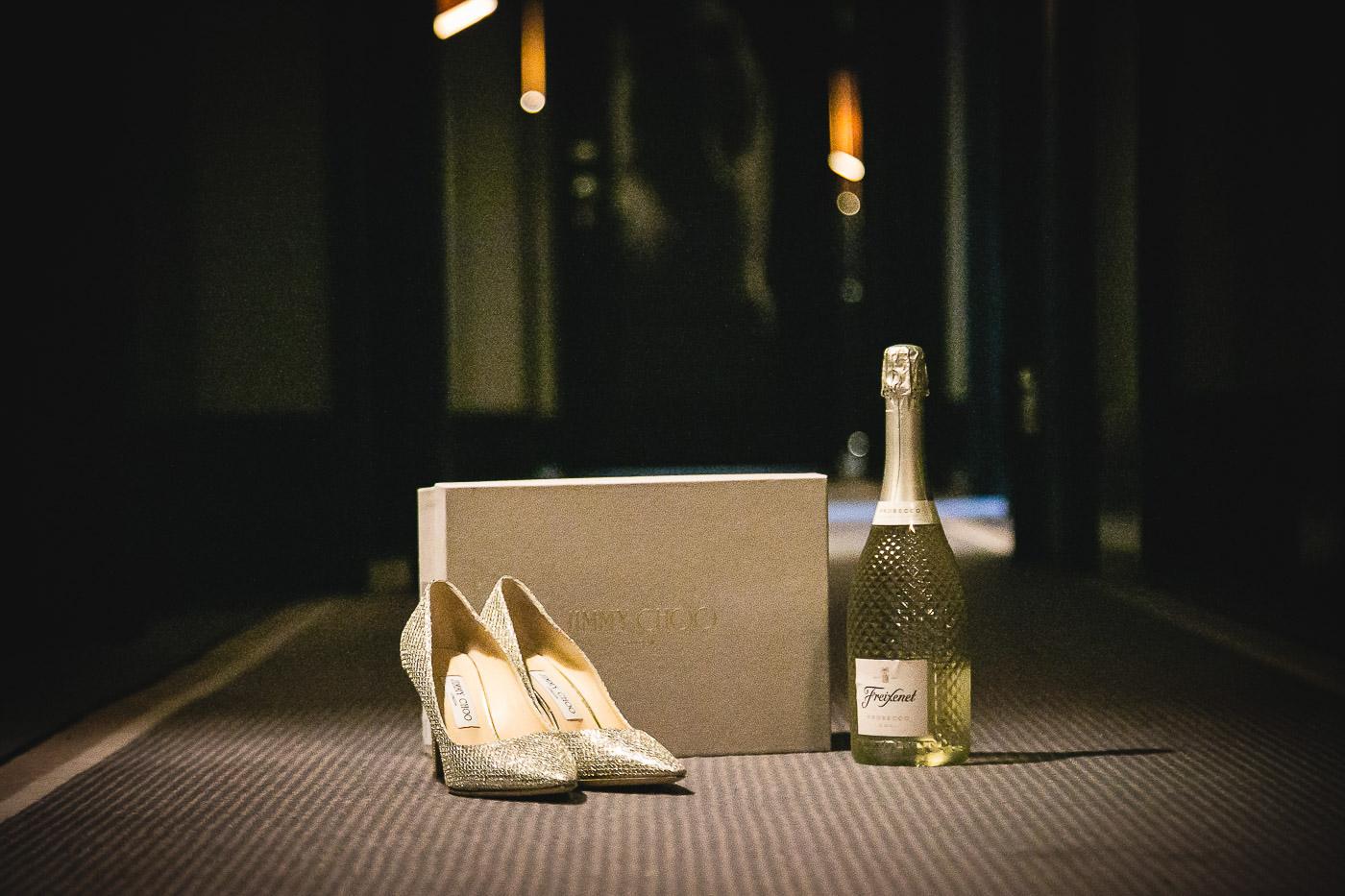 Merchant Hotel Wedding, Shoes