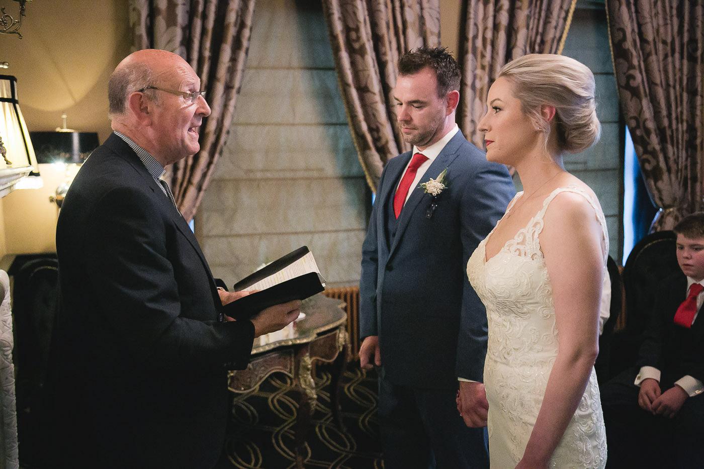 Merchant Hotel Wedding, Ceremony