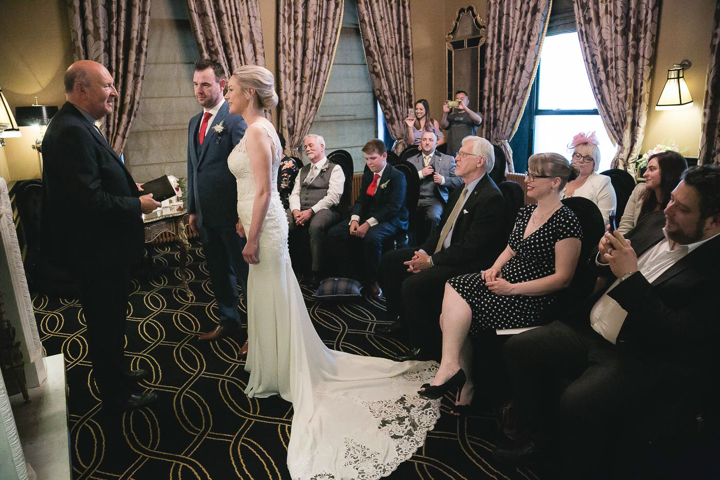 Merchant Hotel Wedding, Ceremony