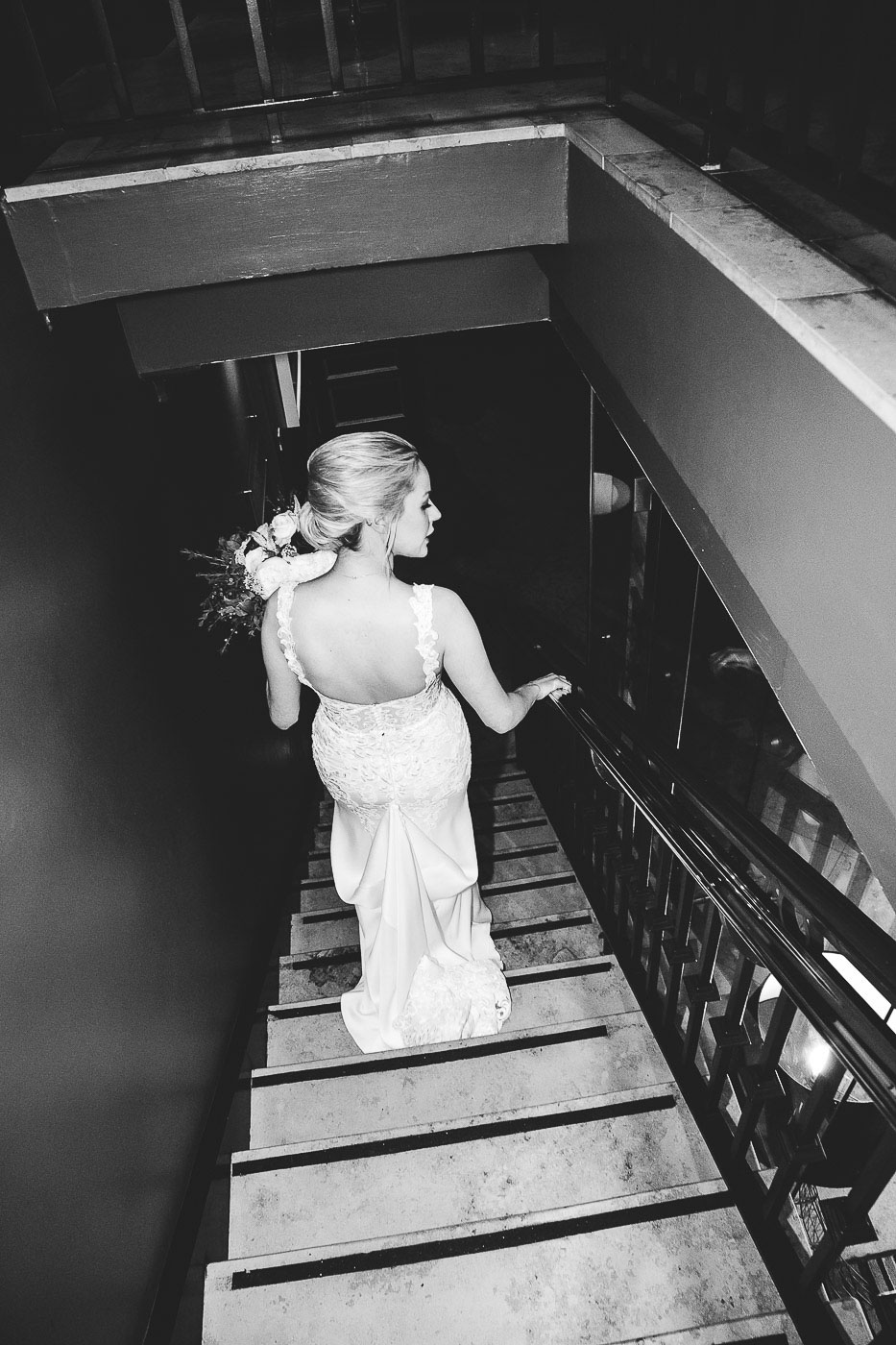 Merchant Hotel Wedding, Bride