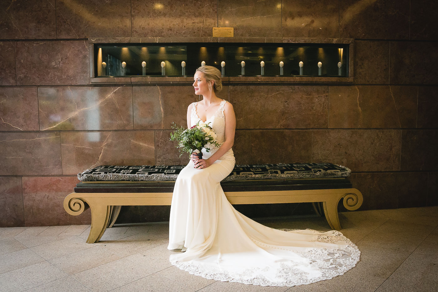 Merchant Hotel Wedding, Bride