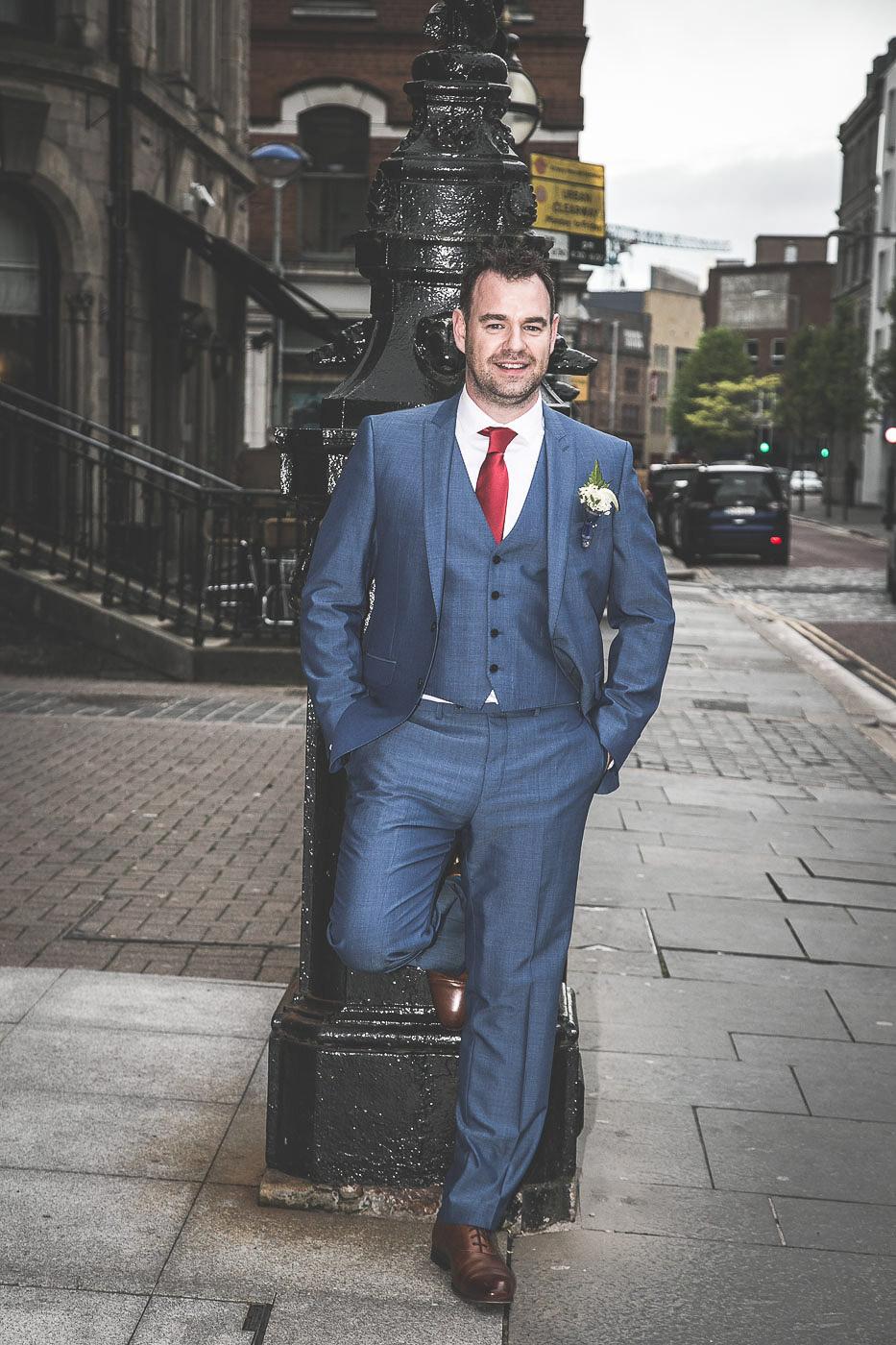 Merchant Hotel Wedding, Groom
