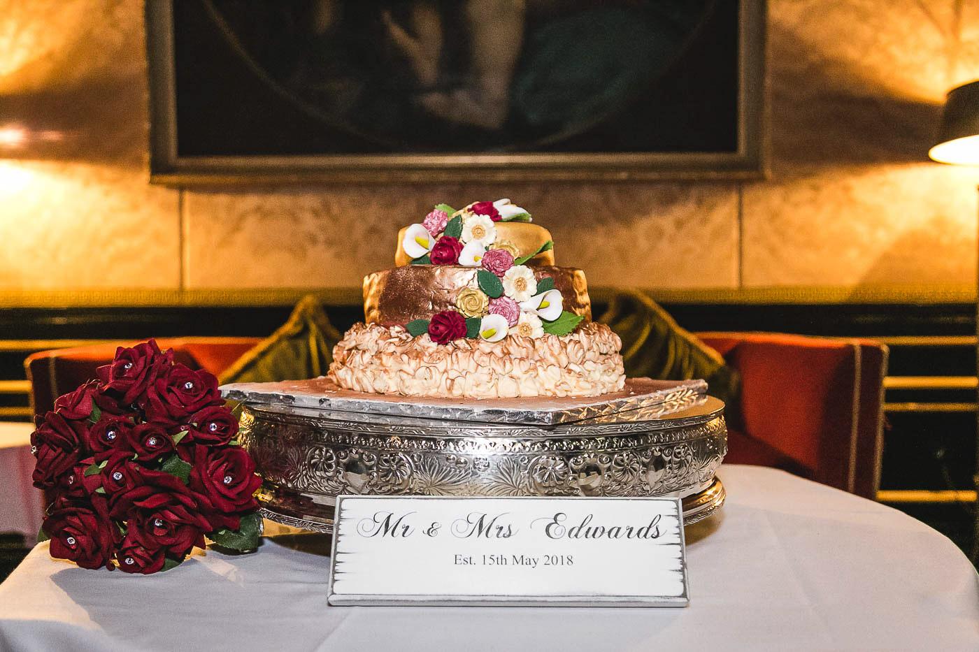 Merchant Hotel Wedding, Cake