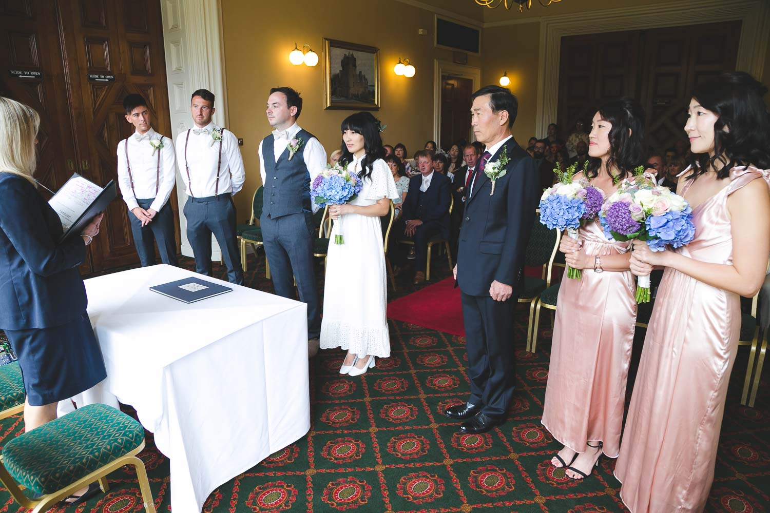 Belfast Castle Wedding