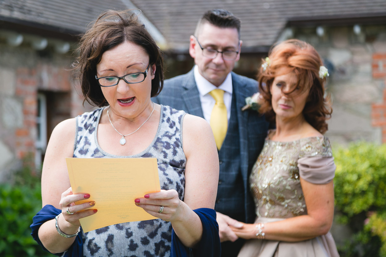 Clenaghans Restaurant Wedding