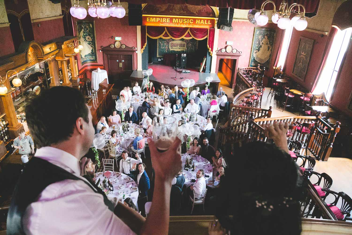 Empire Music Hall Wedding