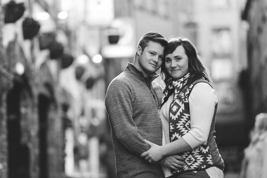 Anniversary Love Shoot in Belfast – Jenna & Travis