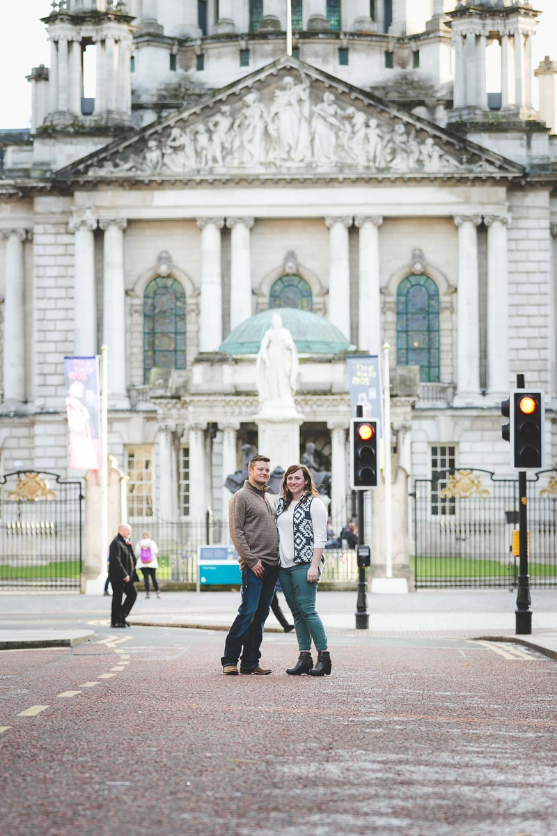 City Hall Belfast Love Shoot