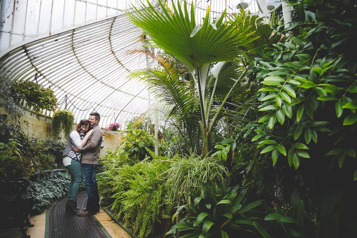 Botanic Gardens Belfast Love Shoot