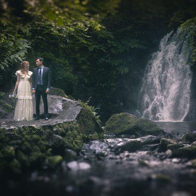 Glenoe Waterfall Wedding