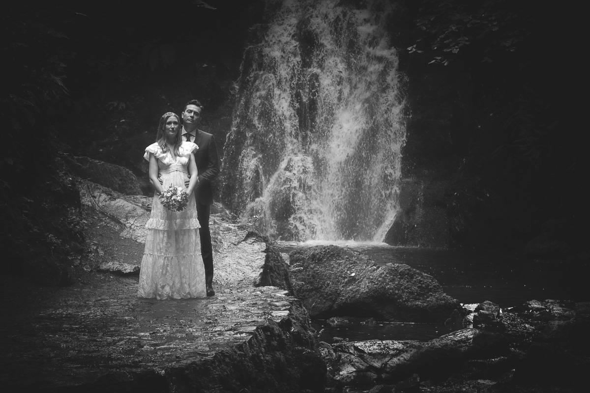 Glenoe Waterfall Wedding