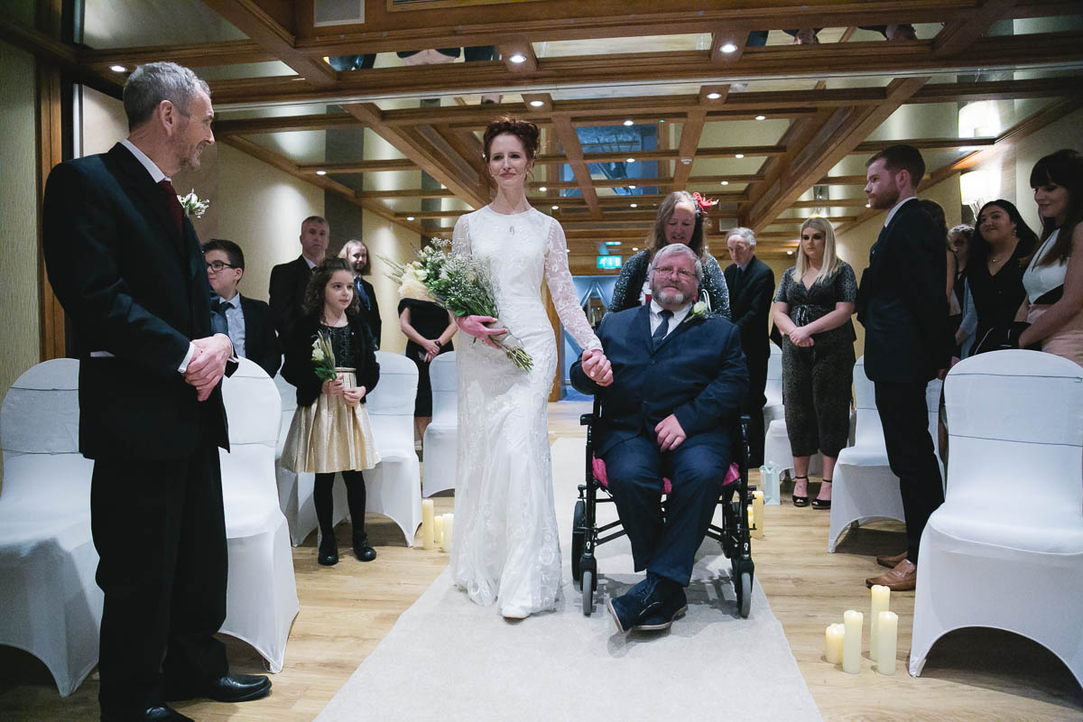 Malone Lodge Wedding Belfast