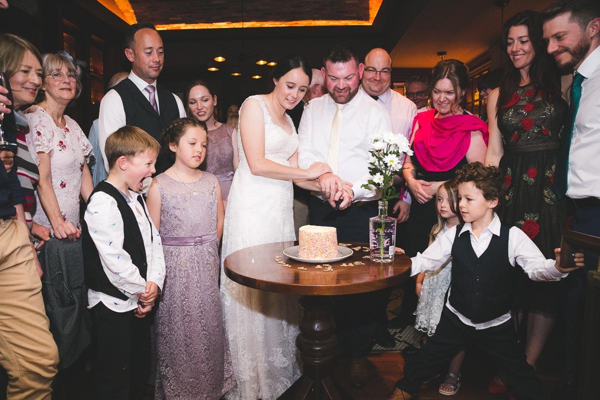 Belfast City Wedding Cake