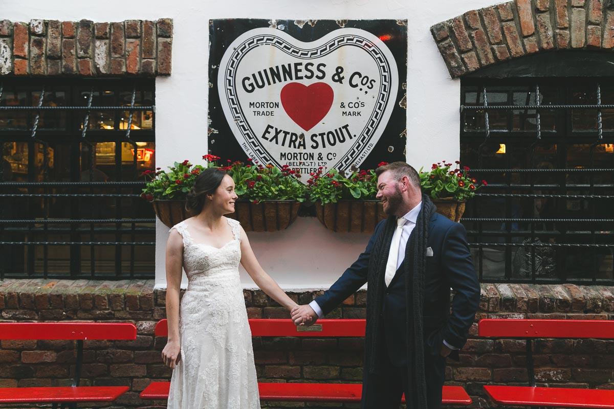 Belfast City Wedding Duke of York