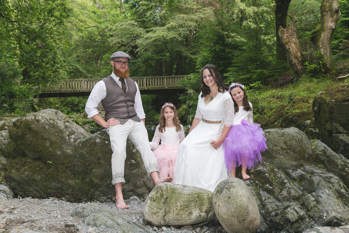 Tollymore Forest Wedding