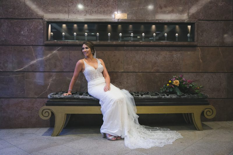 Merchant Hotel wedding Bride