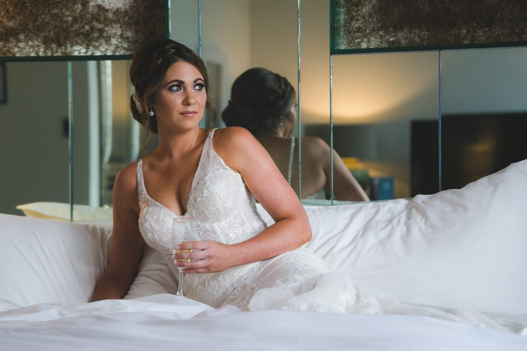 Belfast wedding photographer Merchant Hotel Bride