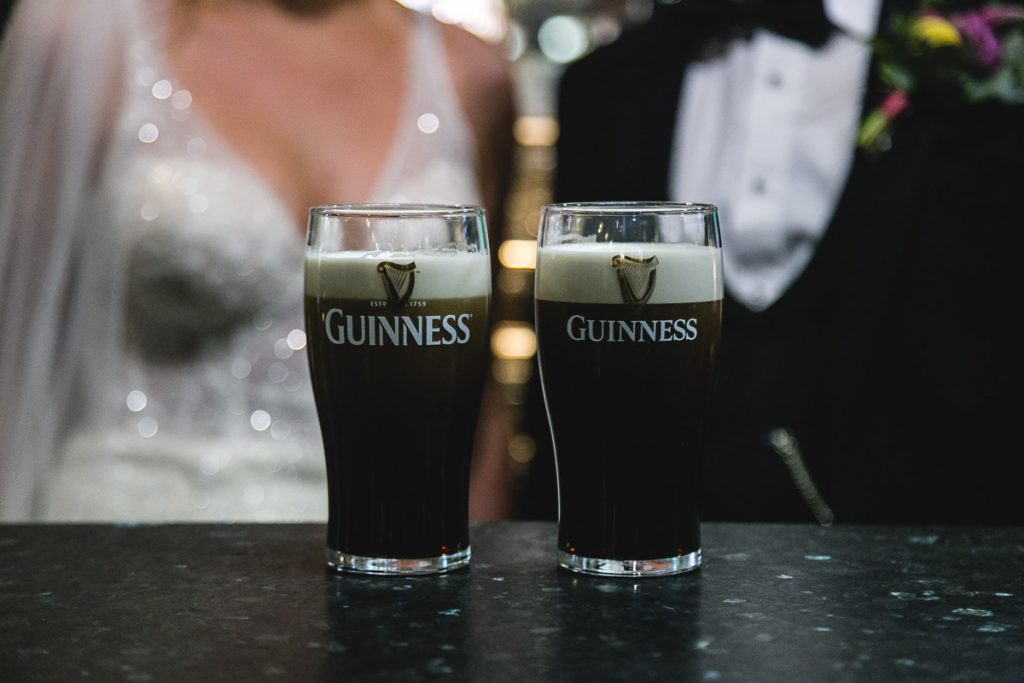 Duke of York Belfast Wedding Guinness