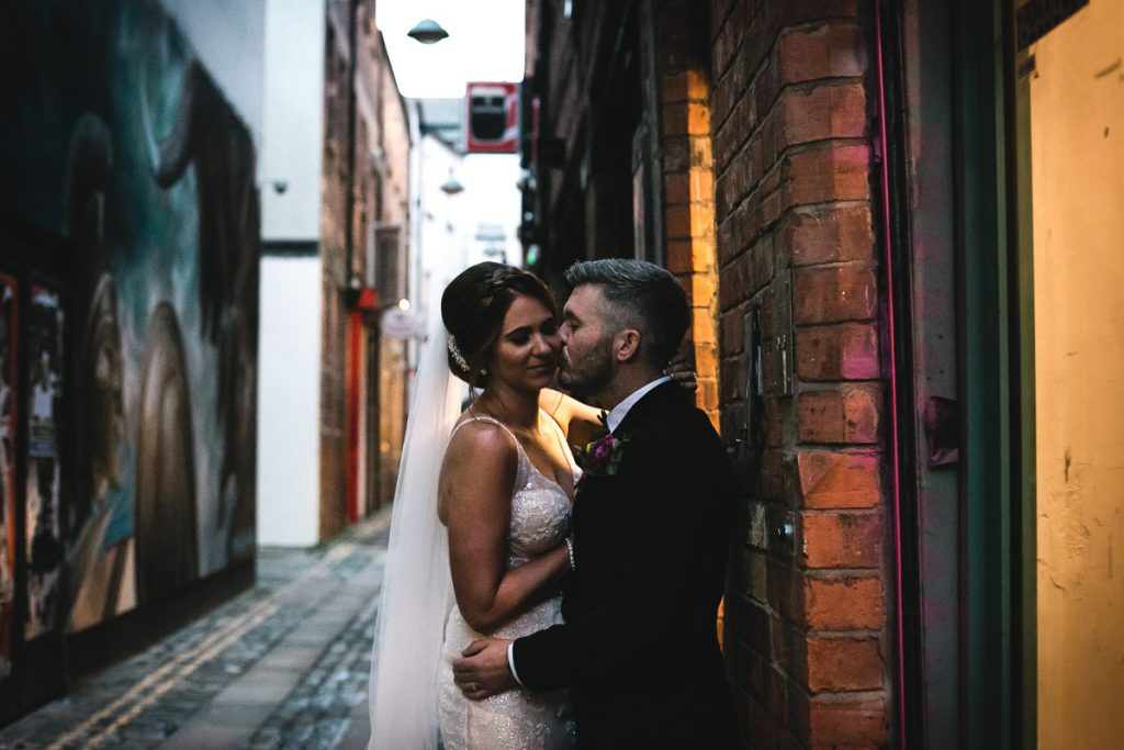 Belfast Cathedral Quarter Wedding
