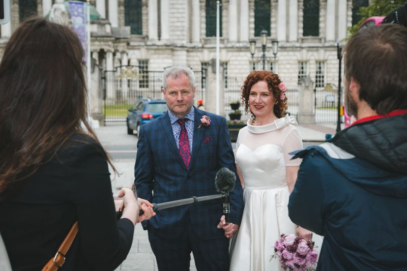 Belfast City Hall Wedding