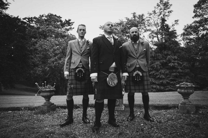Seaforde Wedding Groomsmen