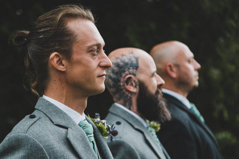 Seaforde Wedding Groomsmen portraits