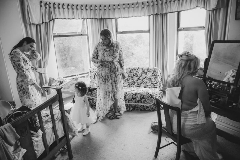 Seaforde Wedding Bridal prep
