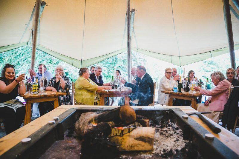 Seaforde Wedding Dinner Guests
