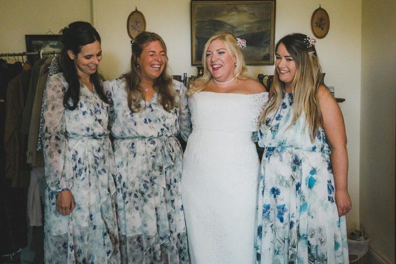 Seaforde Wedding Bridesmaids laughing