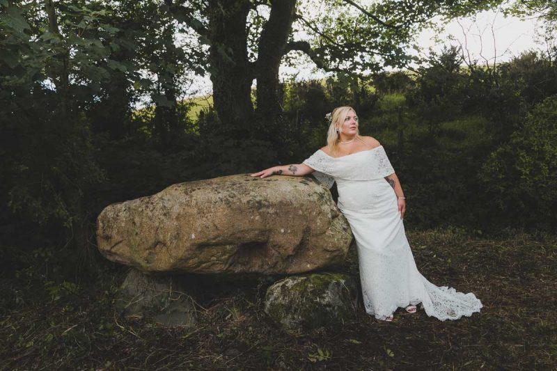 Seaforde Wedding Bride at Dolmen