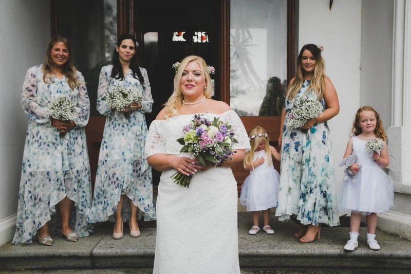 Seaforde Wedding Bridesmaids