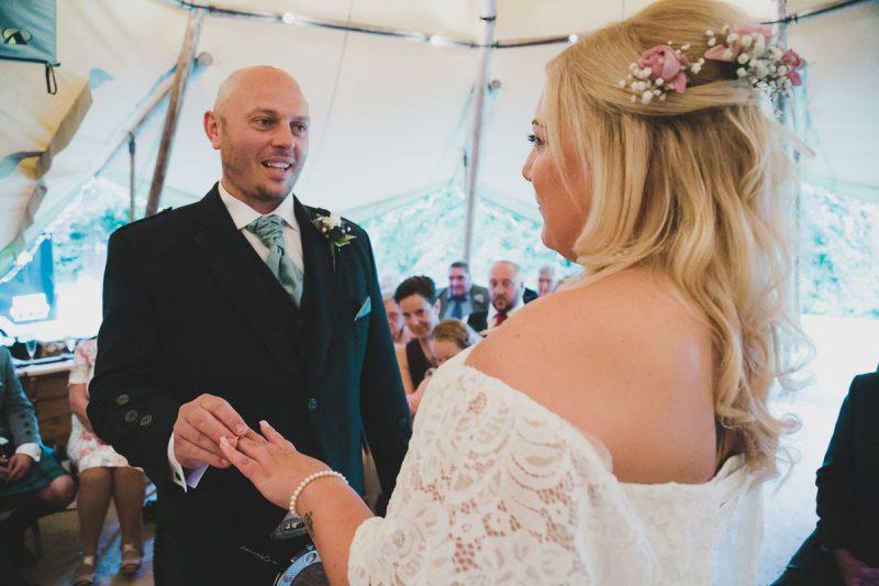 Seaforde Wedding Ceremony Rings