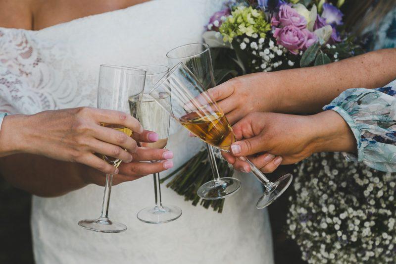 Seaforde Wedding Bridesmaids Glasses