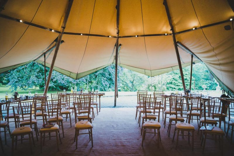 Seaforde Wedding Marquee Seating