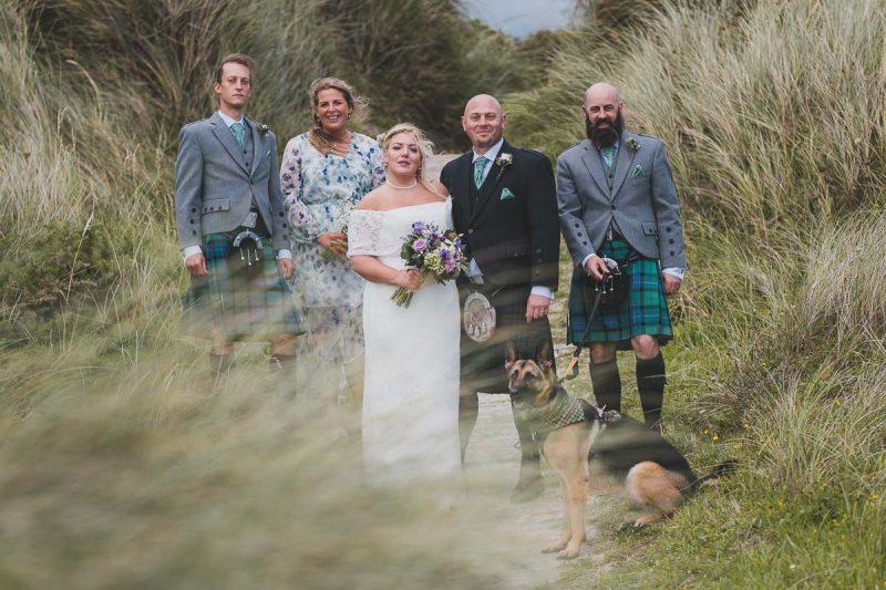 Seaforde Wedding Portraits at Tyrella Beach